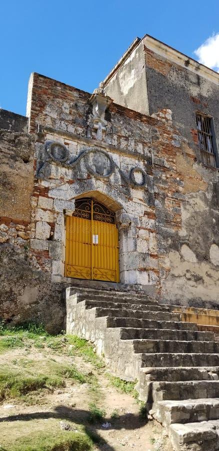Ruiny monaster San Francisco i kościół obraz royalty free