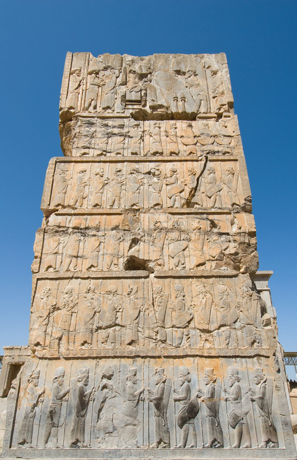 Ruiny Persepolis zdjęcia royalty free