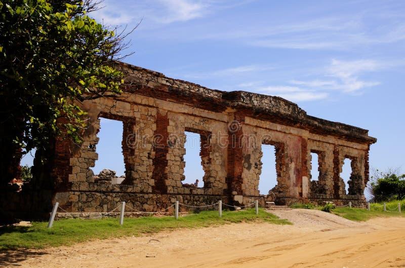 Ruiny piaskiem obrazy stock