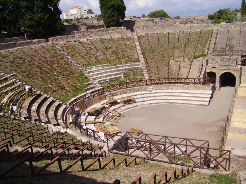 ruiny pompei obrazy royalty free