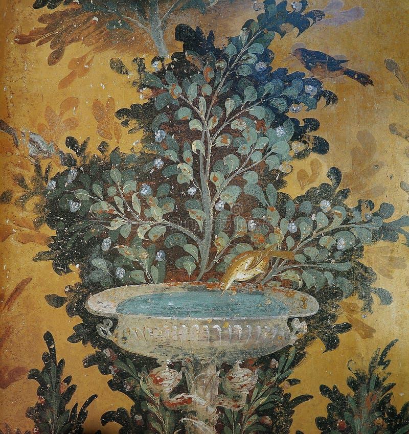 Ruiny Pompeii, blisko Naples, Włochy zdjęcie stock
