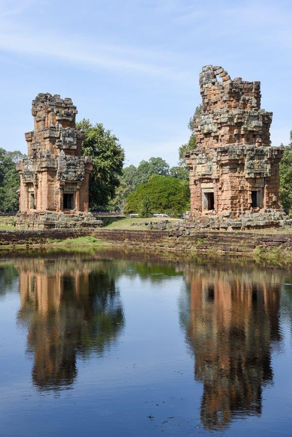 Ruiny Preah Khan przy Angkor Thom na Siemreap fotografia stock