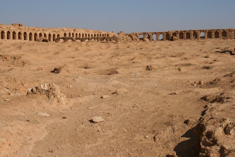 Ruiny resafa obraz royalty free