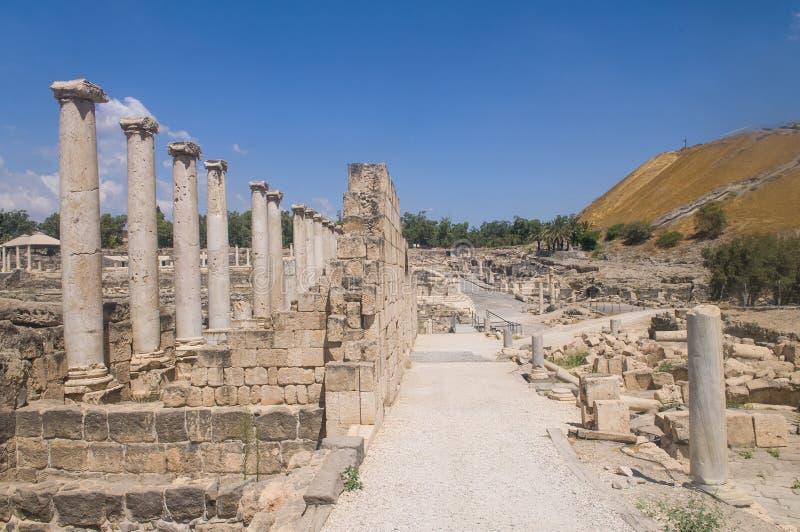 Beit Shean zdjęcie royalty free