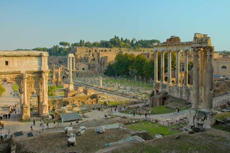 Ruiny Rzym zdjęcie royalty free