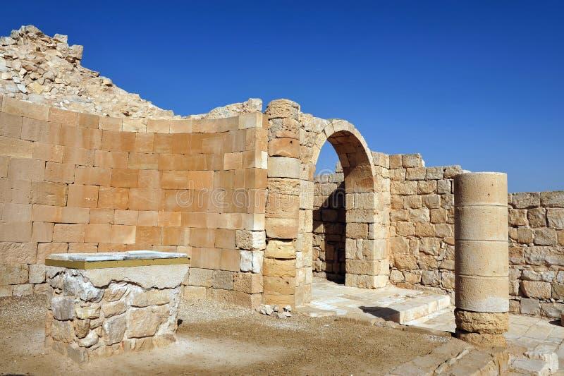 Ruiny Shivta obrazy stock