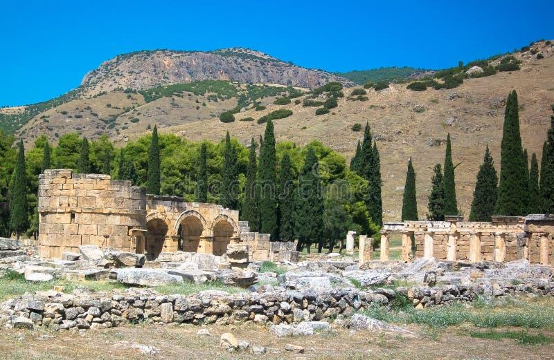 Ruiny stary miasto obrazy stock