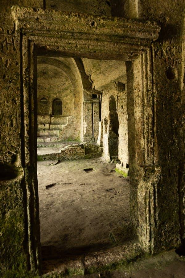Ruiny 6th wieka monaster zdjęcia stock