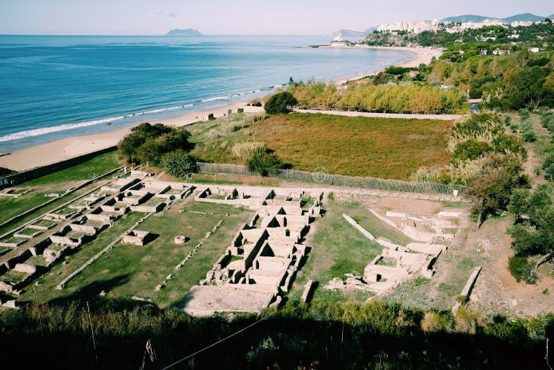 Ruiny tiberian willa zdjęcia royalty free