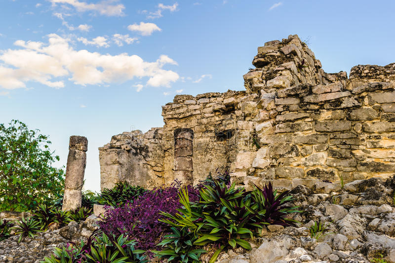 Ruiny Tulum zdjęcia stock