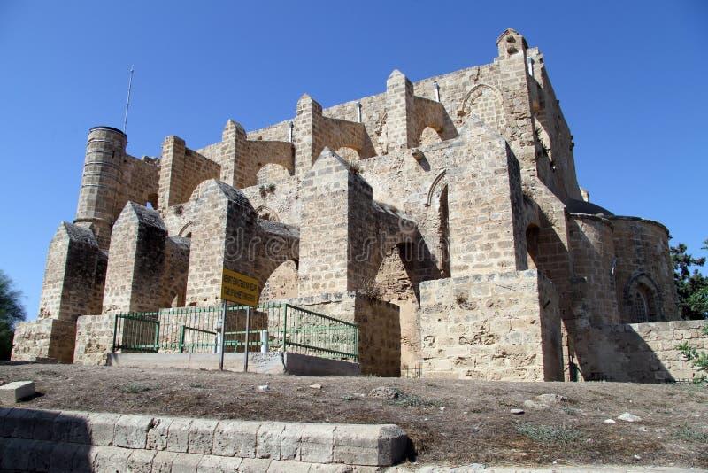 Ruiny w Famagusta fotografia royalty free