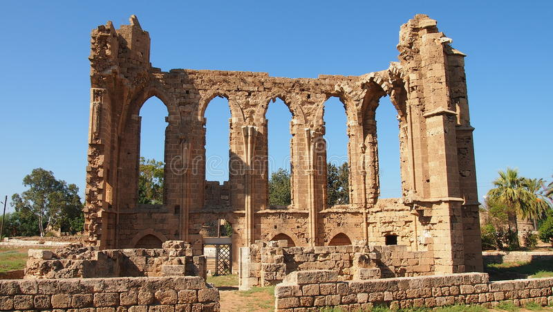 Ruiny w salami obrazy stock