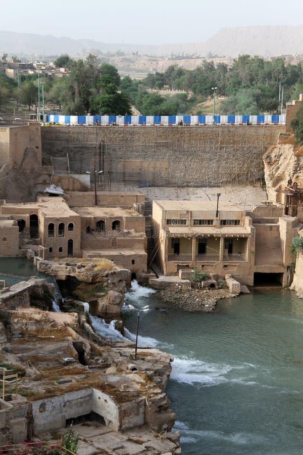 Ruiny w Shushtar fotografia royalty free