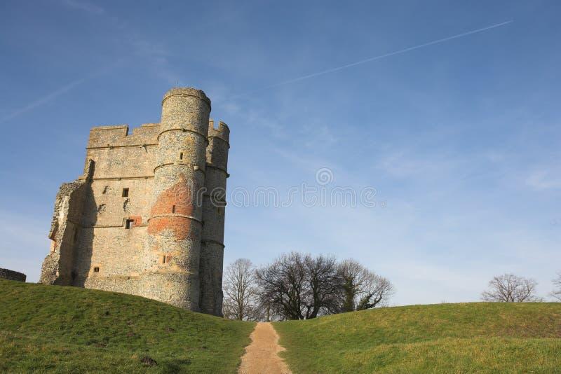 ruiny zamku obraz royalty free