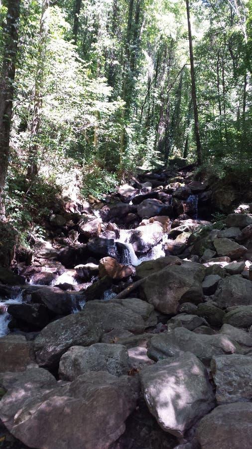 Ruisseau de bouillonnement photo stock