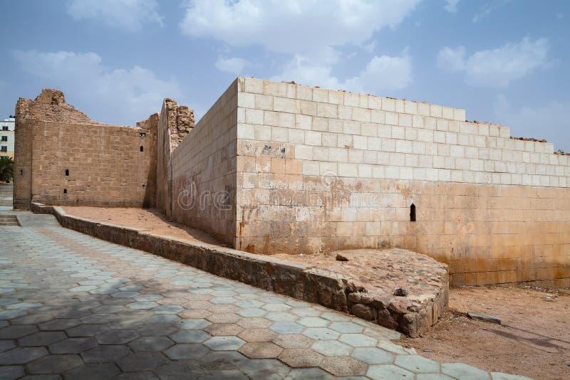 Rujnujący Aqaba forteca, Mamluk kasztel zdjęcia stock