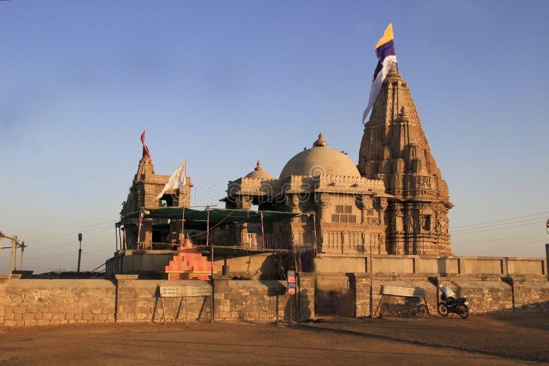 Rukmini-Tempel, Dwaraka stockbild
