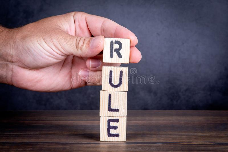 Rule. Compliance, regulations and standards concept stock photos
