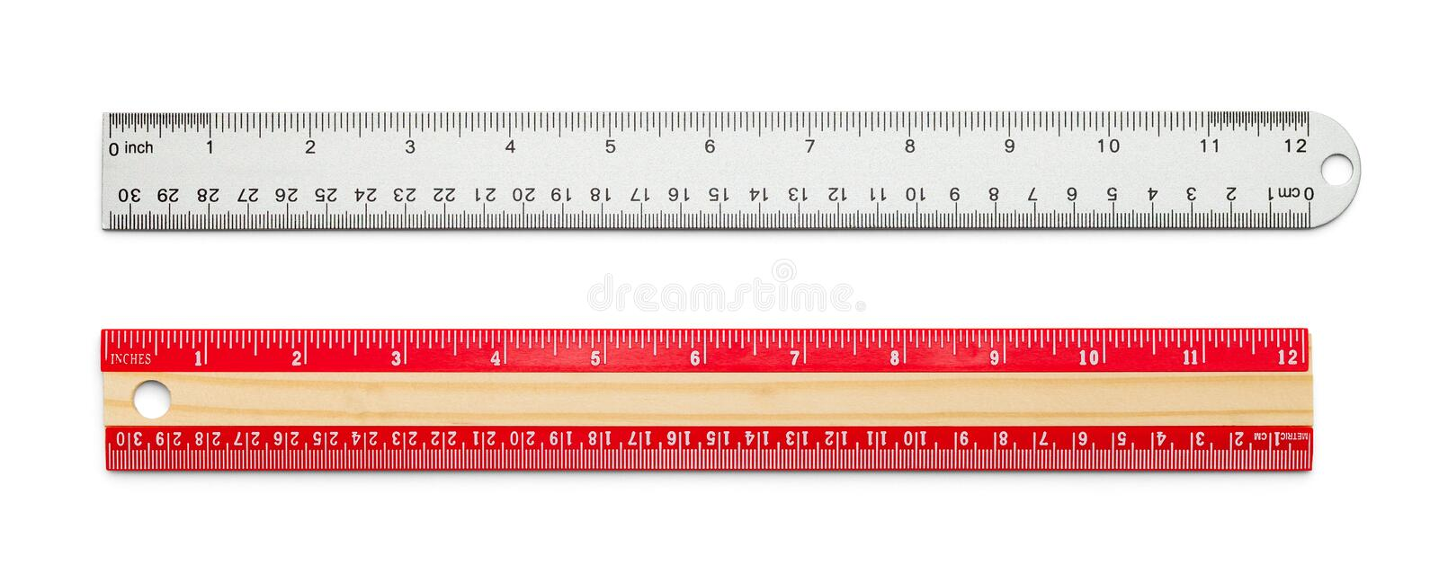 rulers photographie stock