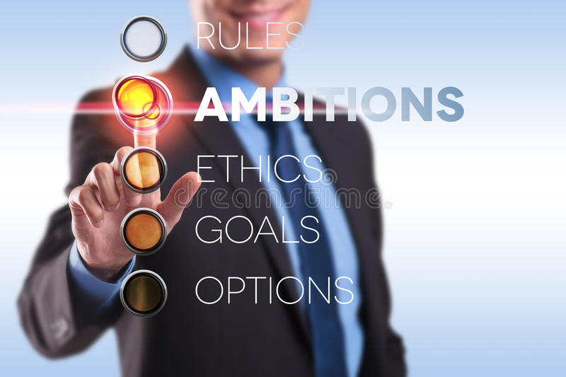 Download Rules, Ambition, Ethics, Goals, Options Stock Image - Image: 27825485