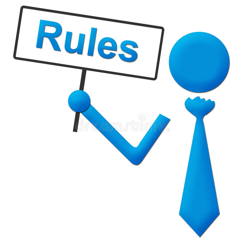 Regeln Symbol