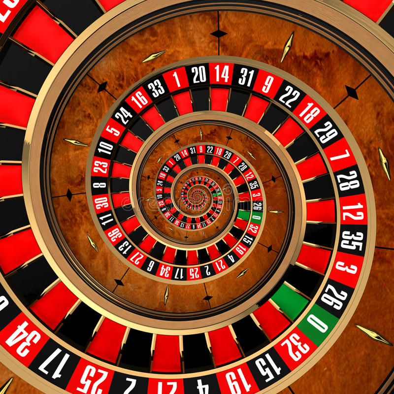 Ruleta espiral libre illustration
