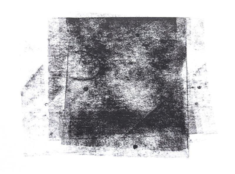 Rullande akrylm?larf?rg som isoleras p? vit bakgrund stock illustrationer