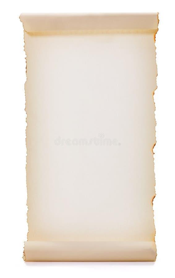 Rullande papper för mellanrum royaltyfri bild