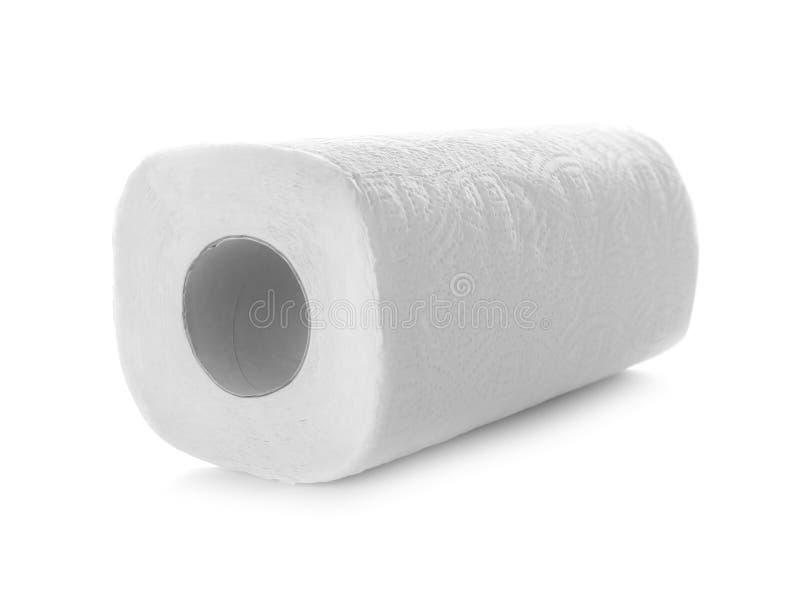Rulle av pappers- handdukar arkivbild