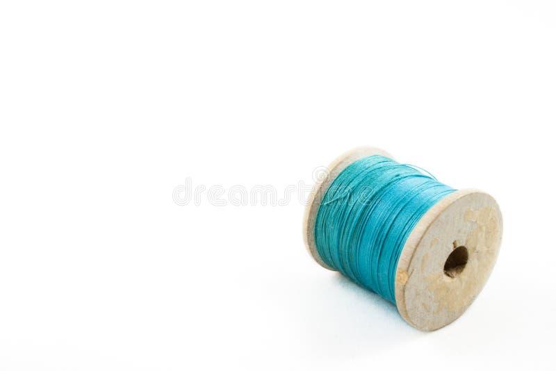 Rulle av turkostråden arkivfoton