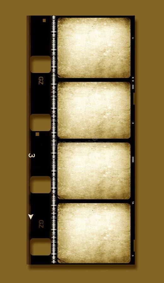 rulle för 8mm filmfilm stock illustrationer