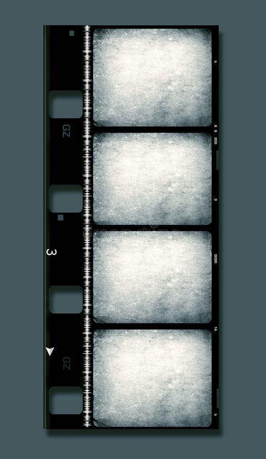 rulle för 8mm filmfilm vektor illustrationer