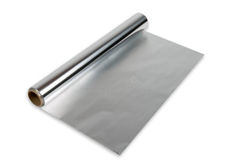 Rulle för Aluminum folie arkivbilder