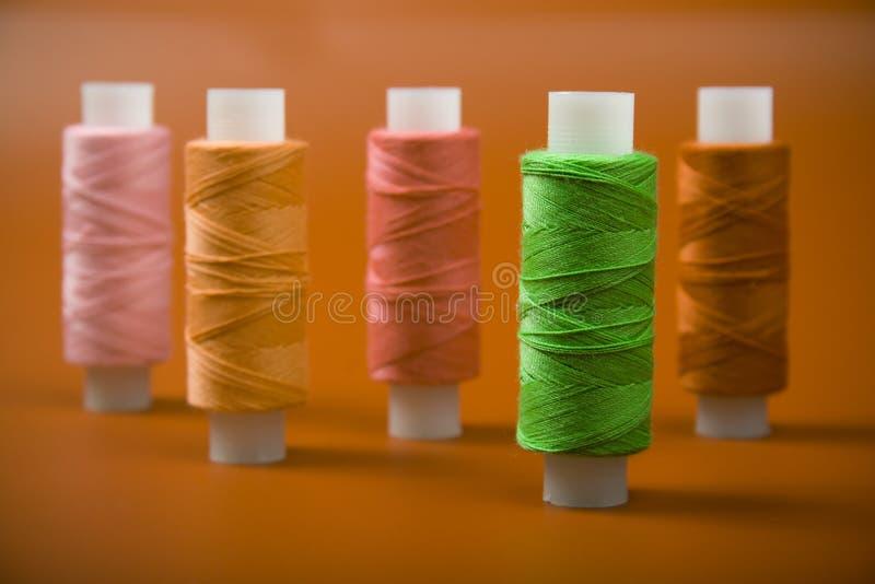 rulletråd royaltyfri fotografi