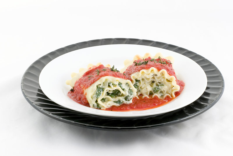 Rulli del Lasagna? perché non fotografia stock