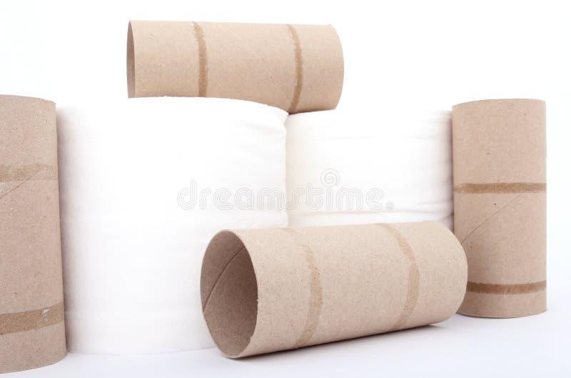 Rulli della carta igienica immagine stock libera da diritti