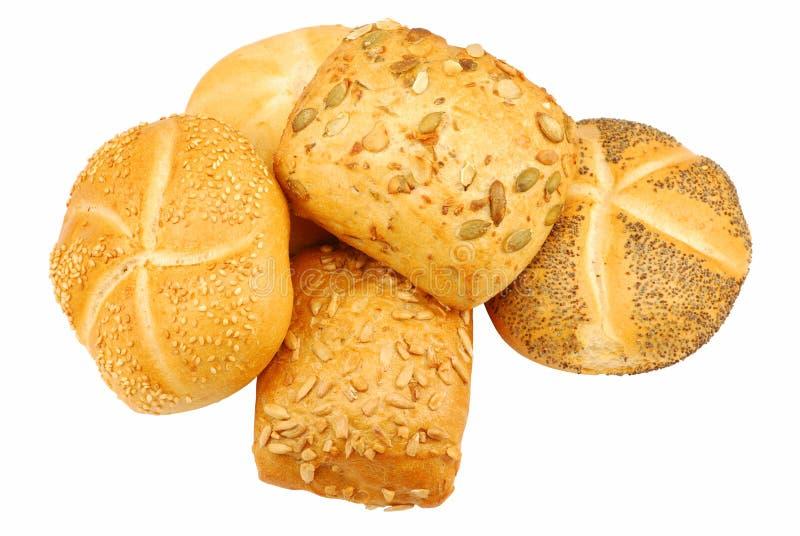 Download Rulli di pane fresco immagine stock. Immagine di mangi - 3887059