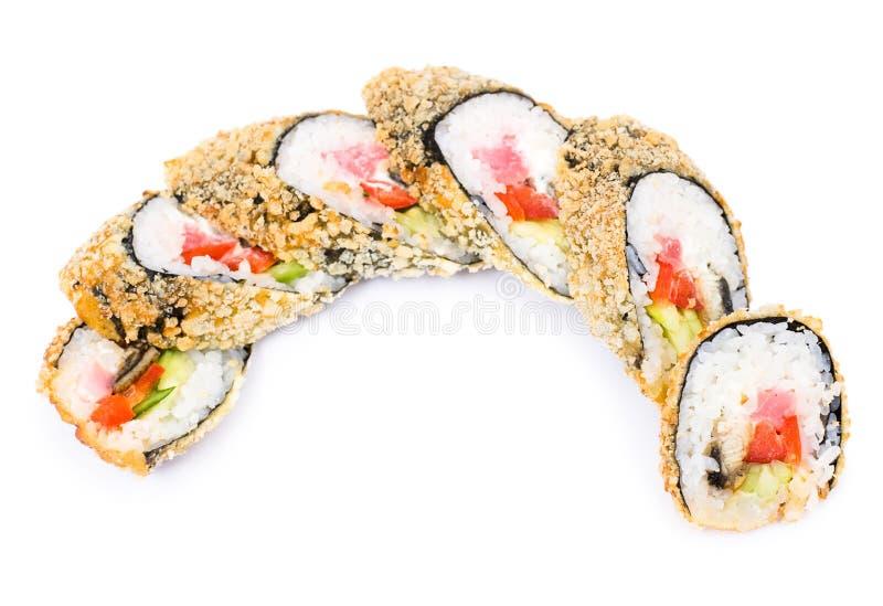 Rulli di sushi immagini stock libere da diritti