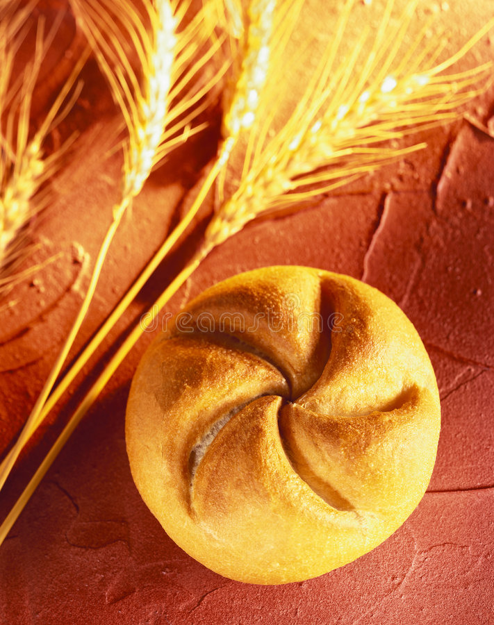 Rullo di pane   immagini stock libere da diritti