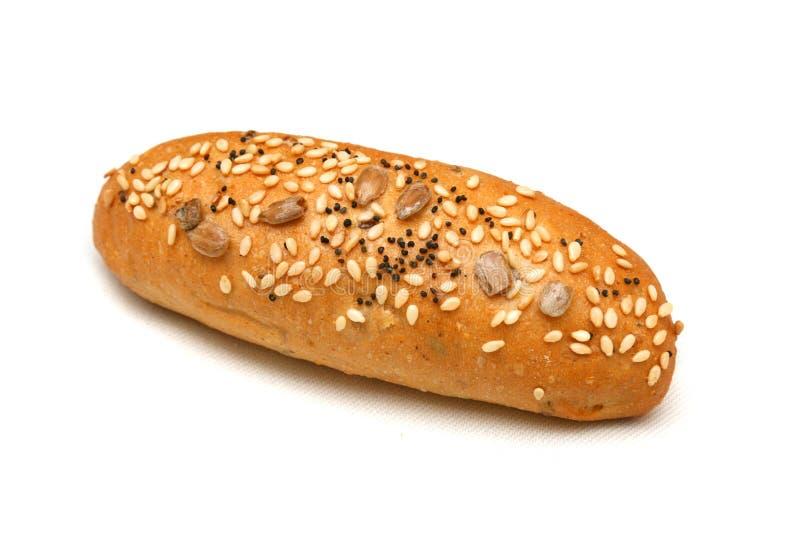 Rullo di pane del frumento immagini stock