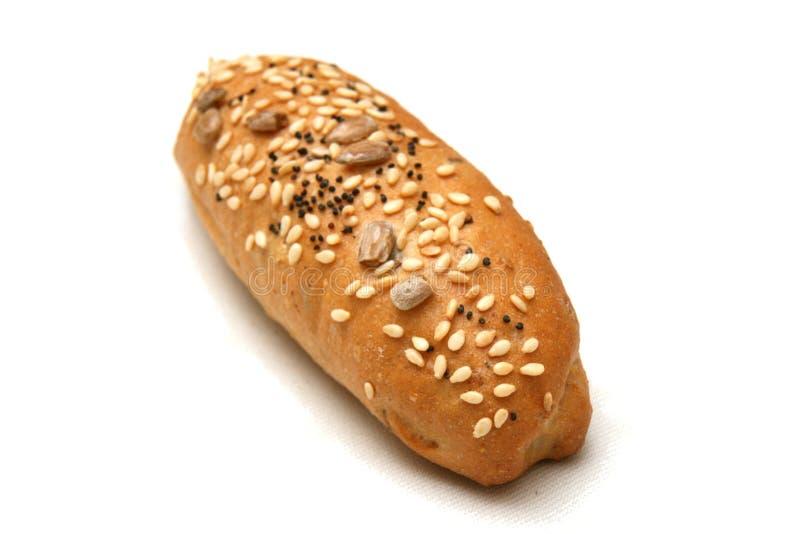 Rullo di pane del frumento fotografia stock