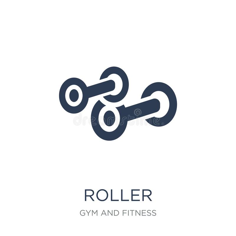 Rullsymbol  stock illustrationer