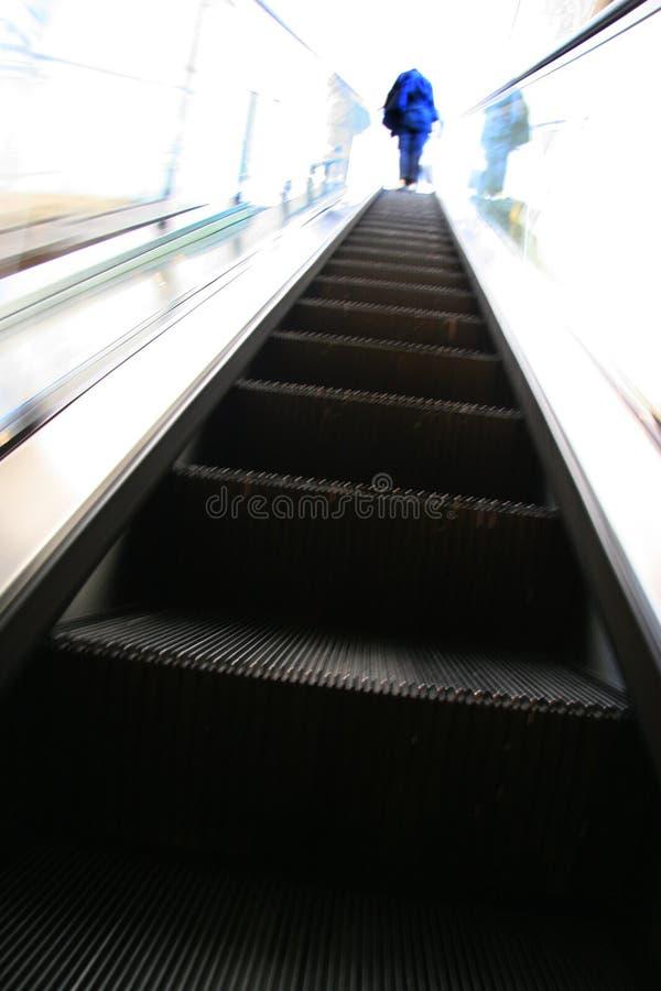 rulltrappa arkivbild