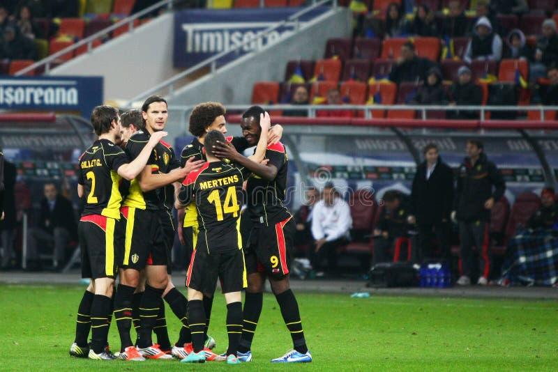 Download Rumänien Belgien redaktionelles bild. Bild von zujubeln - 27725160