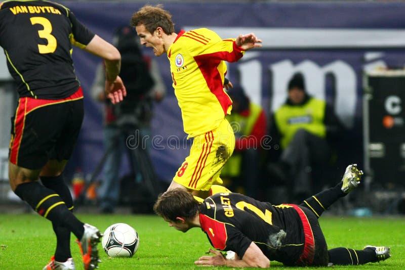 Download Rumänien Belgien redaktionelles stockfoto. Bild von beifall - 27725583