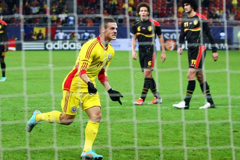 Download Rumänien Belgien redaktionelles stockbild. Bild von beifall - 27725659