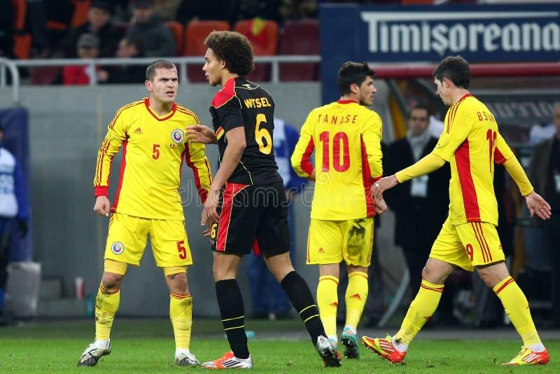 Download Rumänien Belgien redaktionelles stockfoto. Bild von beifall - 27725708