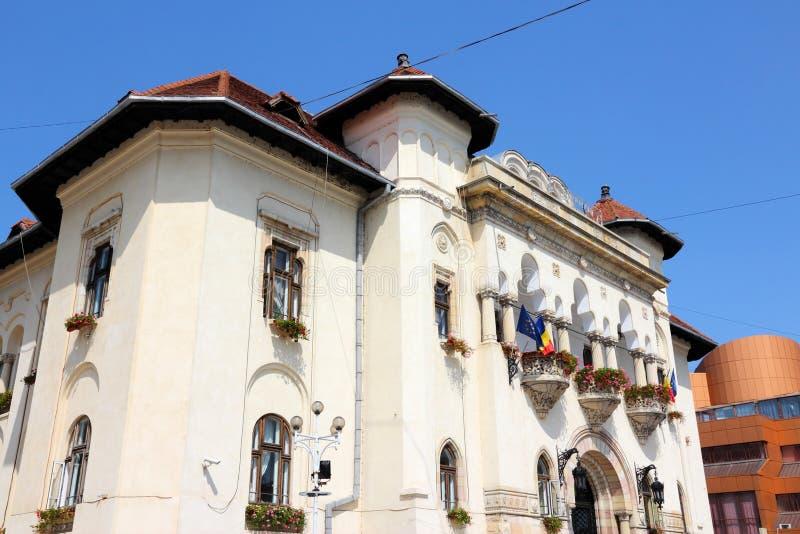 Rumänien - Campulung arkivbild