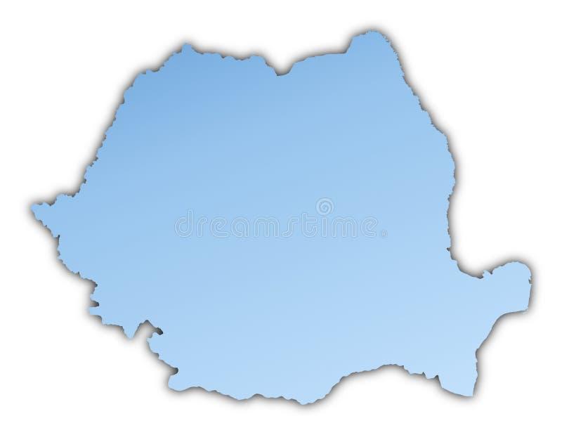 Rumänien-Karte vektor abbildung