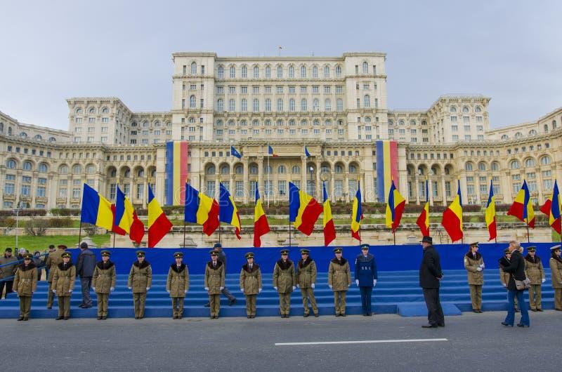 Rumänien nationell dag fotografering för bildbyråer